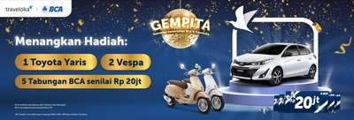 Promo Undian BCA GEMPITA: Dapat Mobil, Motor dan Tabungan 100 Juta, Belinda