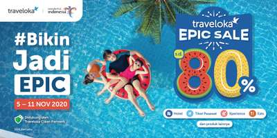 Berburu Promo di Traveloka EPIC SALE 2020, Markus Yohannes