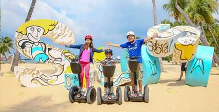 Discover Sentosa on Two Wheels with GoGreen Segway Eco Adventure & Cycle, Xperience Team