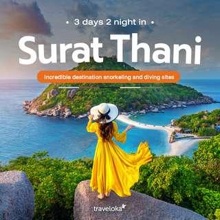 แพลนเที่ยวสุราษแบบ 3 วัน 2 คืน เช่ารถขับเที่ยวรอบเมืองสุราษ, Thawatchai Prommai