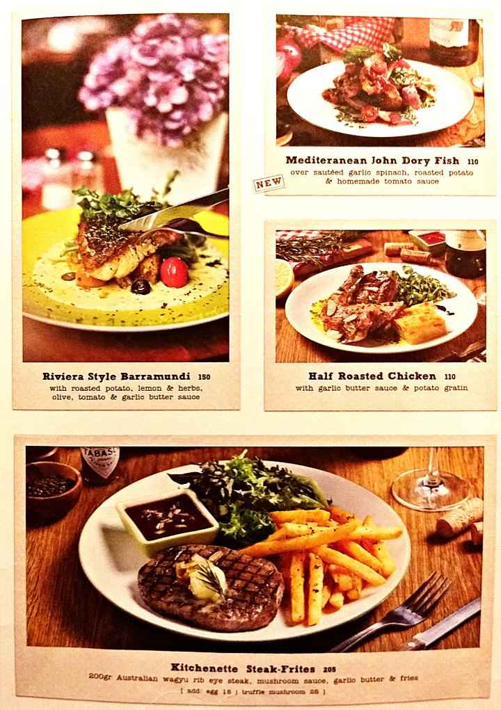 Kitchenette Pacific Place Mall Menu Updated Menu For