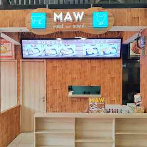 MAW Meat and Wood - Food Market Sunter