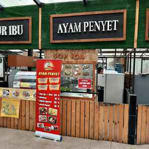Ayam Penyet Pedas Mantap - Orchid Forest Foodcourt