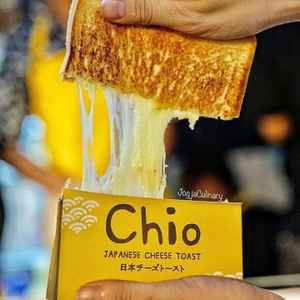 Chio Japanese Cheese Toast - Paragon City Mall