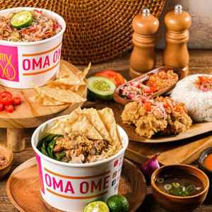 Oma Ome Express, Kemang (Free Delivery)