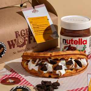 Bgre Waffle ( Free Delivery )