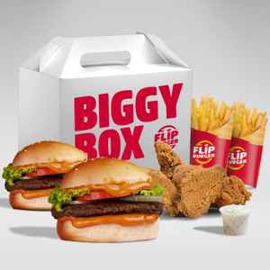 Flip Burger - Margocity (Free Delivery)