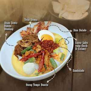 Lontong Sayur Jadul - Fave Food Kitchen (Free Delivery)