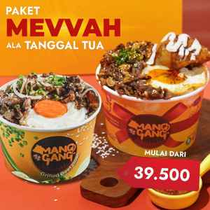 MangGang Grilled Beef Bowl - Citra 2 (Free Delivery)