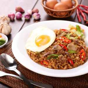 Nasi Goreng Mager By Bebek Dower Point - Cinere (Free Delivery)