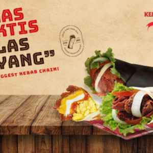 Kebab Container by Baba Rafi - SPBU Ngagel (Free Delivery)
