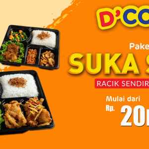 D'COST - Mall Bassura (Free Delivery)