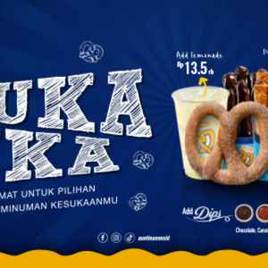 Auntie Anne's - Bandung Indah Plaza (Free Delivery)