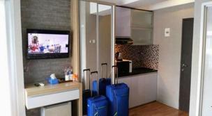 Hala Rooms at Jarrdin Apartment Cihampelas