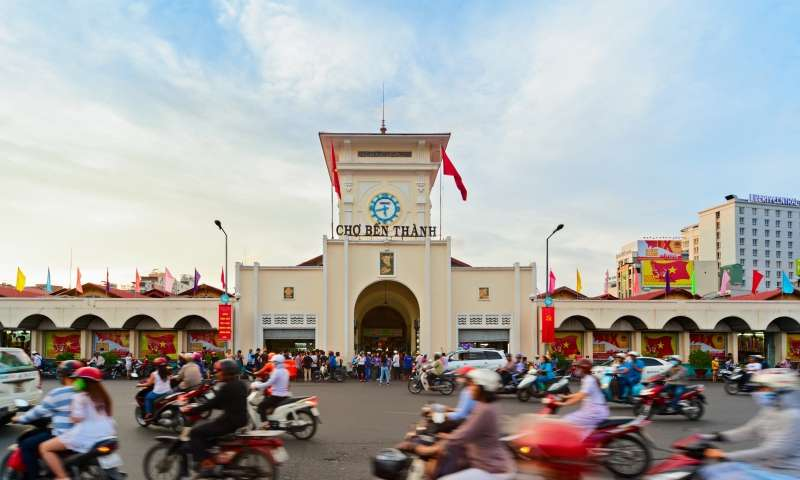 ho chi minh city package - ben thanh market