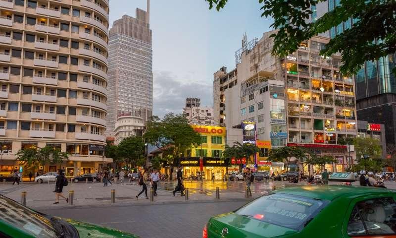 ho chi minh city package - Nguyen Hue Walking street