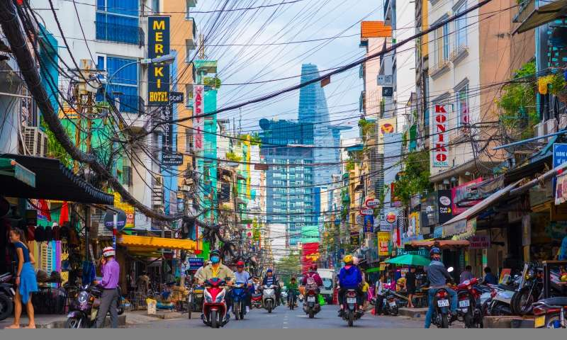 ho chi minh package - bitexco