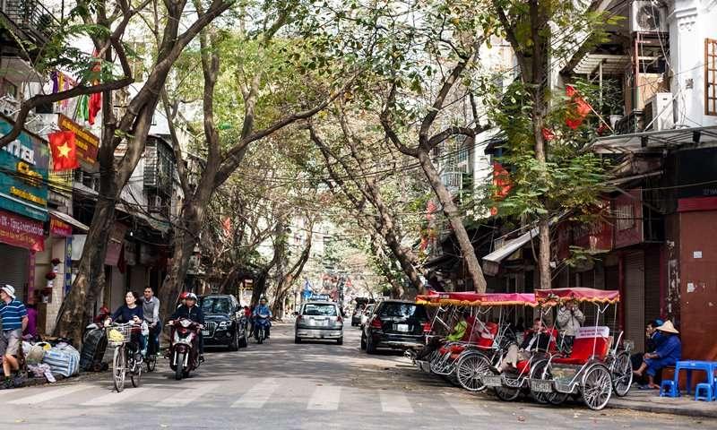 hanoi package - old quater