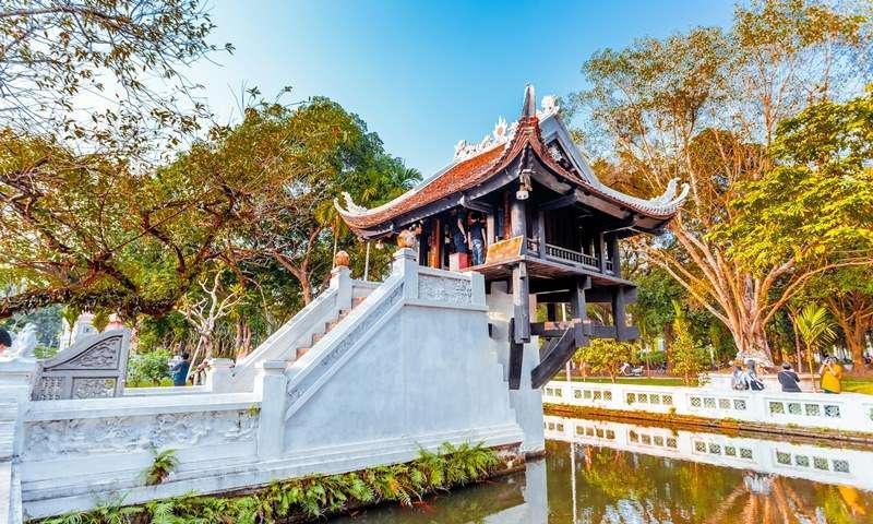 hanoi package - One Pillar Pagoda