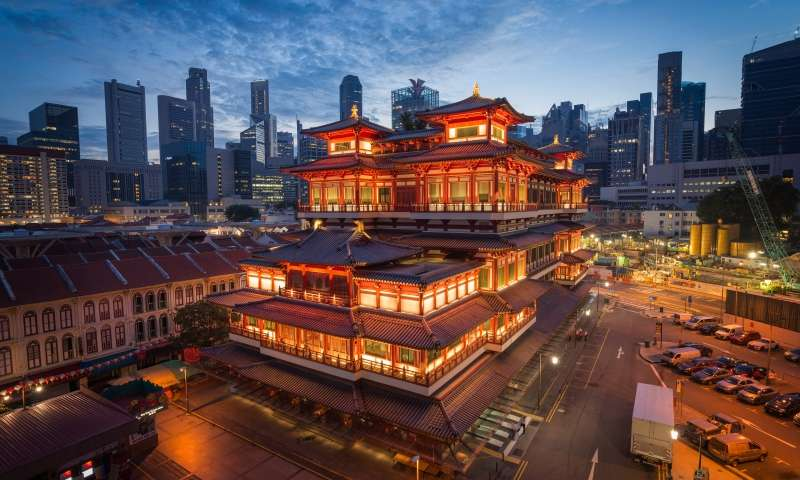 singapore package - chinatown