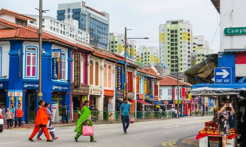 singapore package - little india