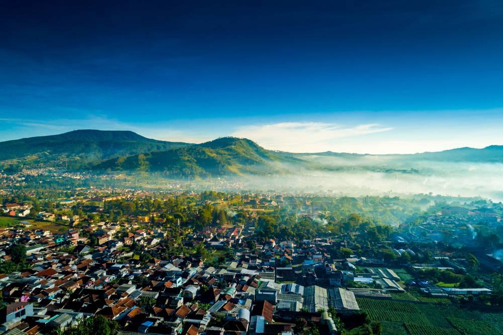 Pemandangan di Lembang