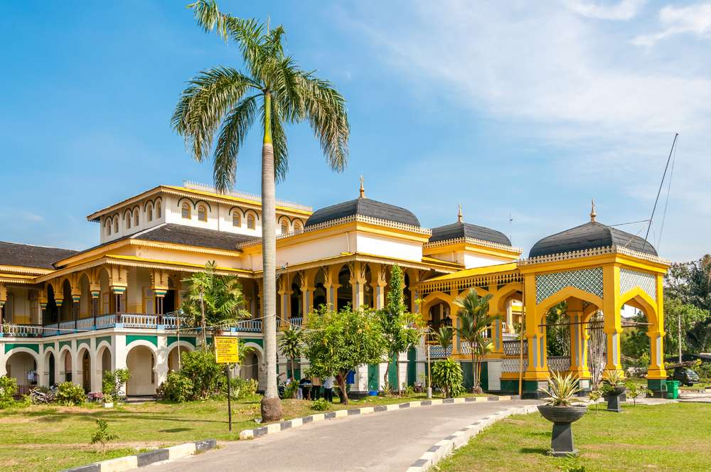 Sultan's Palace Maimoon