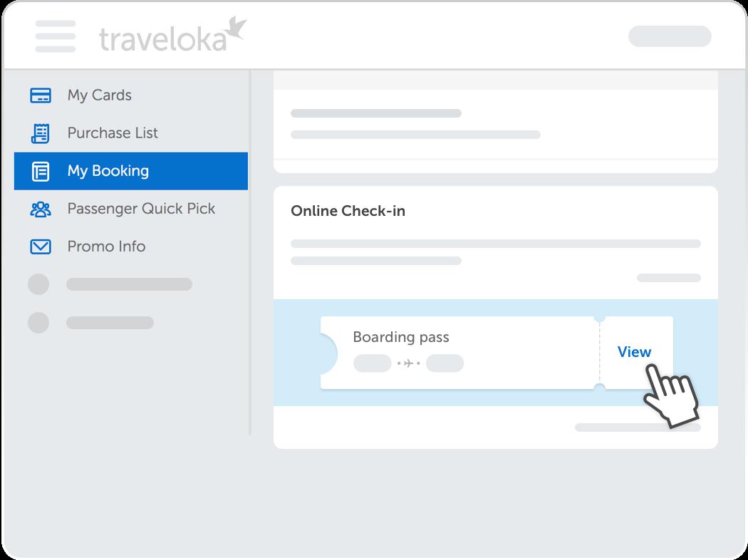Traveloka Check In Step 5