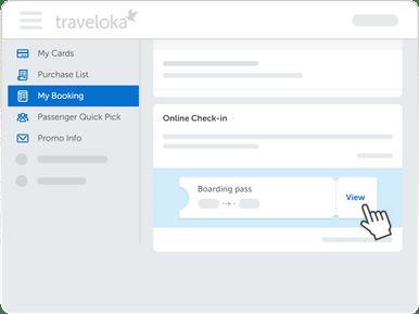 Traveloka Check In Langkah 5