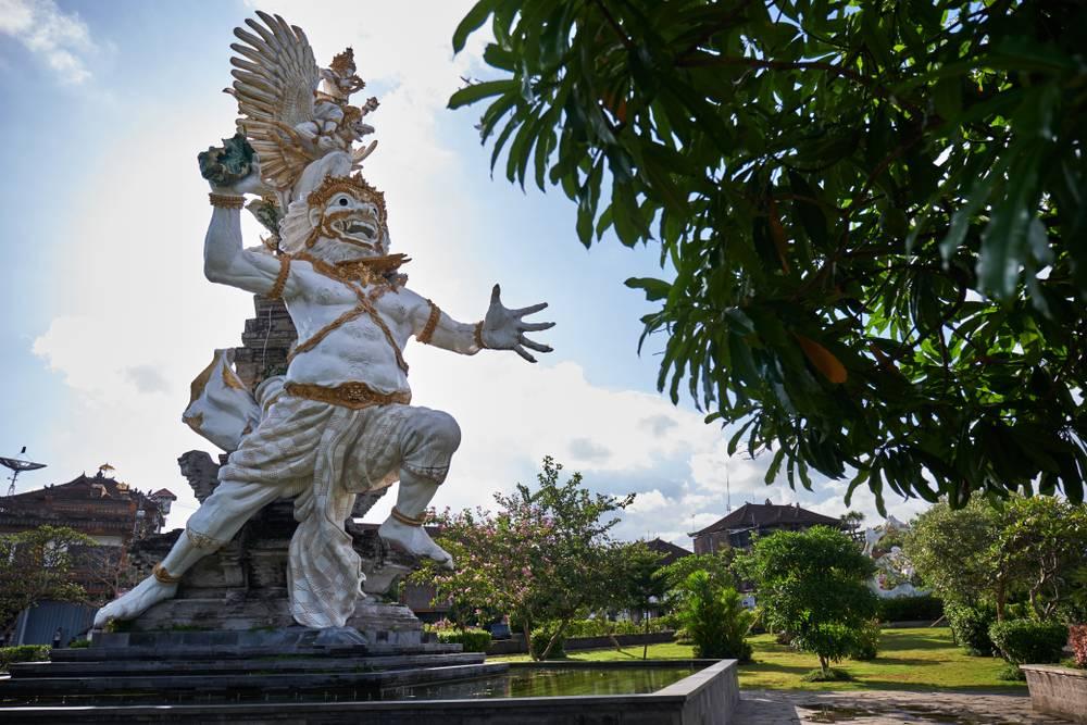Patung Taman Kota Gianyar