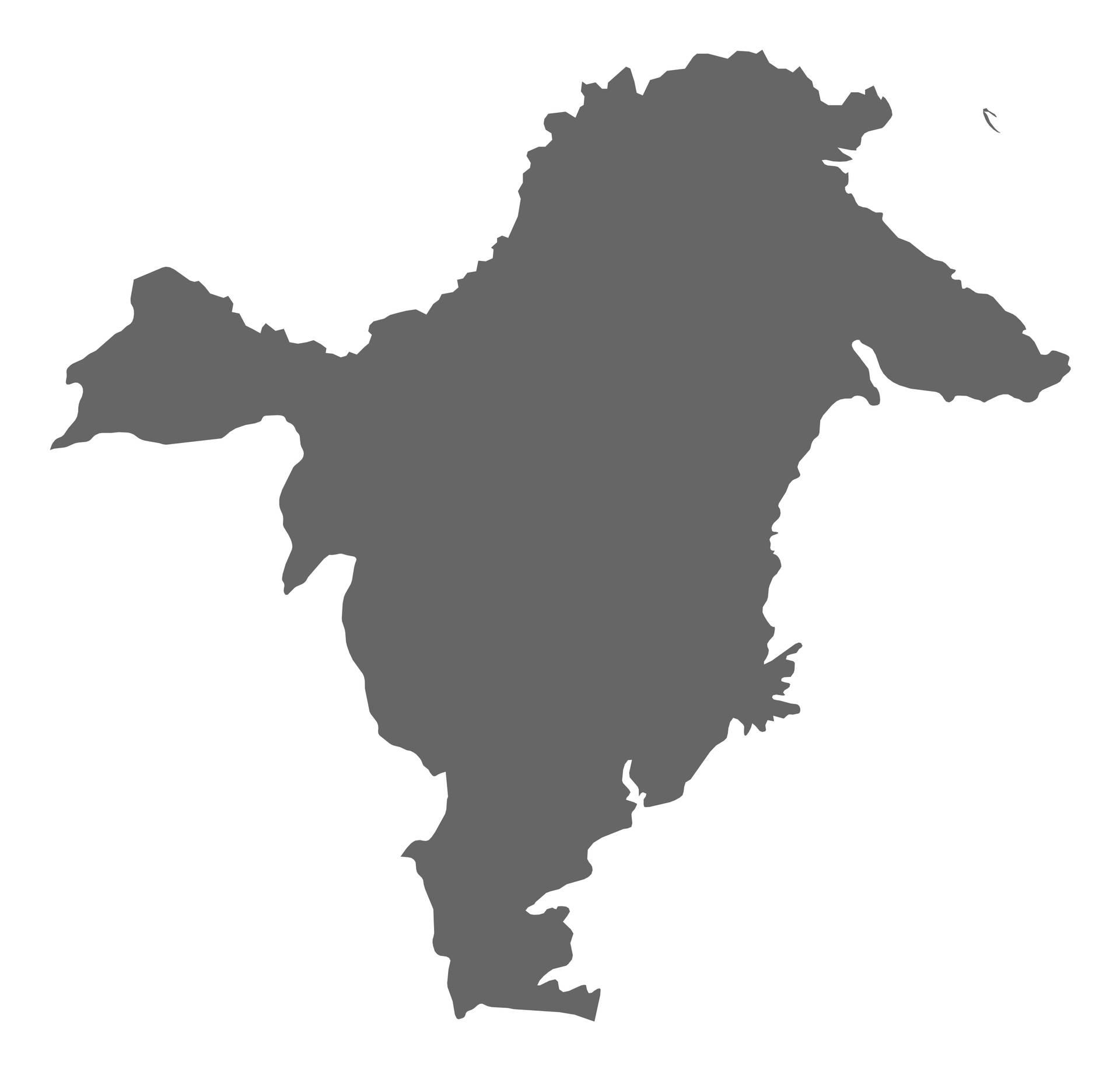 Peta Kalimantan Timur