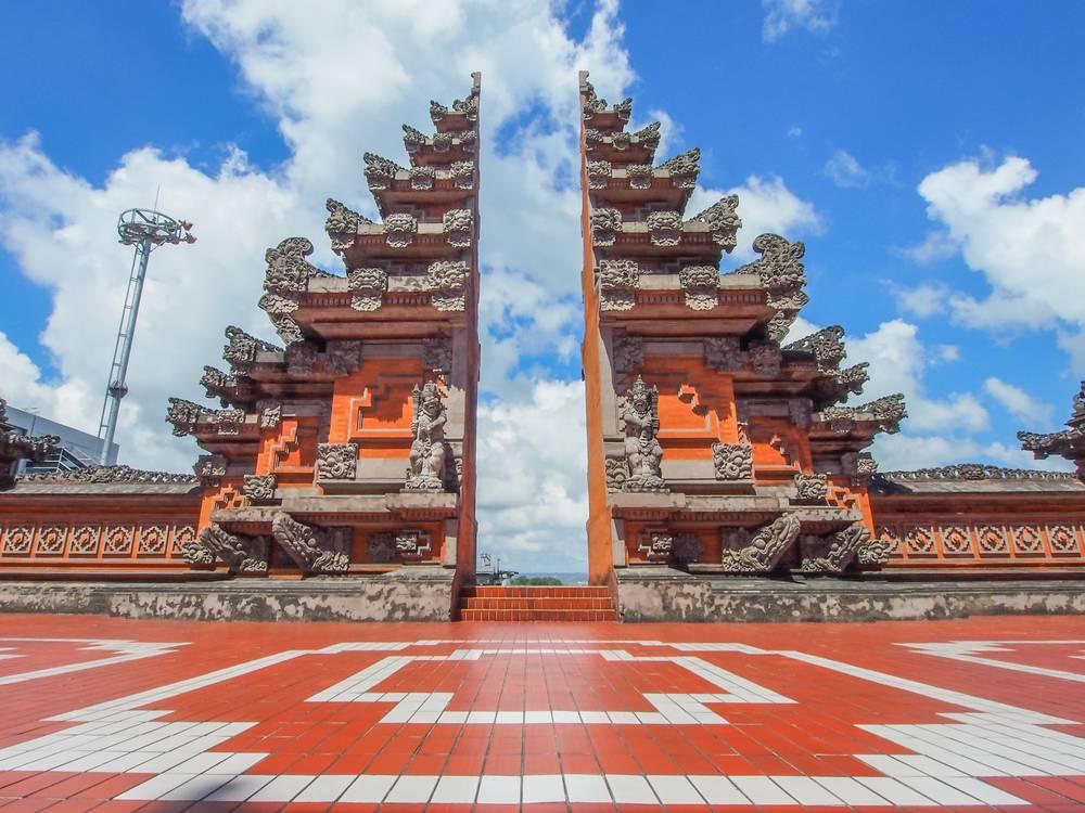 Gate Entrance, Denpasar