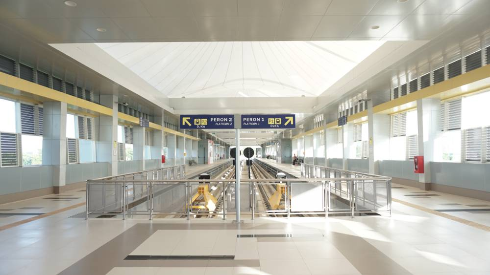 Stasiun MRT Bandara Sultan Mahmud Badaruddin II
