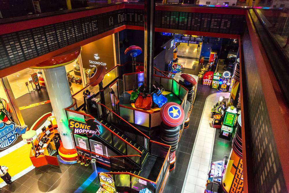 NIndoor Theme Park