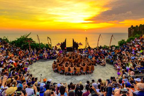 Kecak Dance performance at Uluwatu Temple