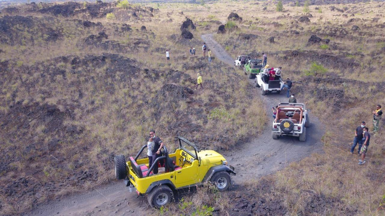 Jeep Adventure at Mount Batur