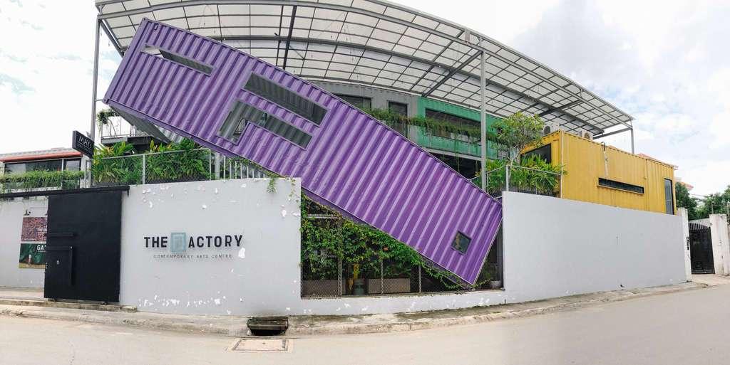 Biet thu Quan 2 - The Factory Contemporary Art Center