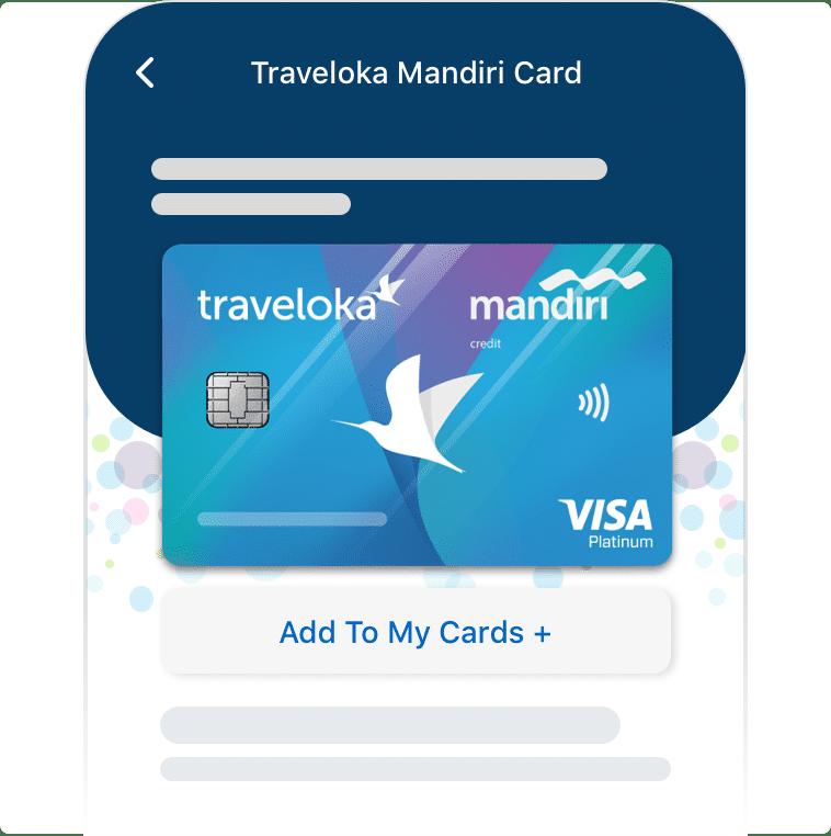 Traveloka Mandiri Card