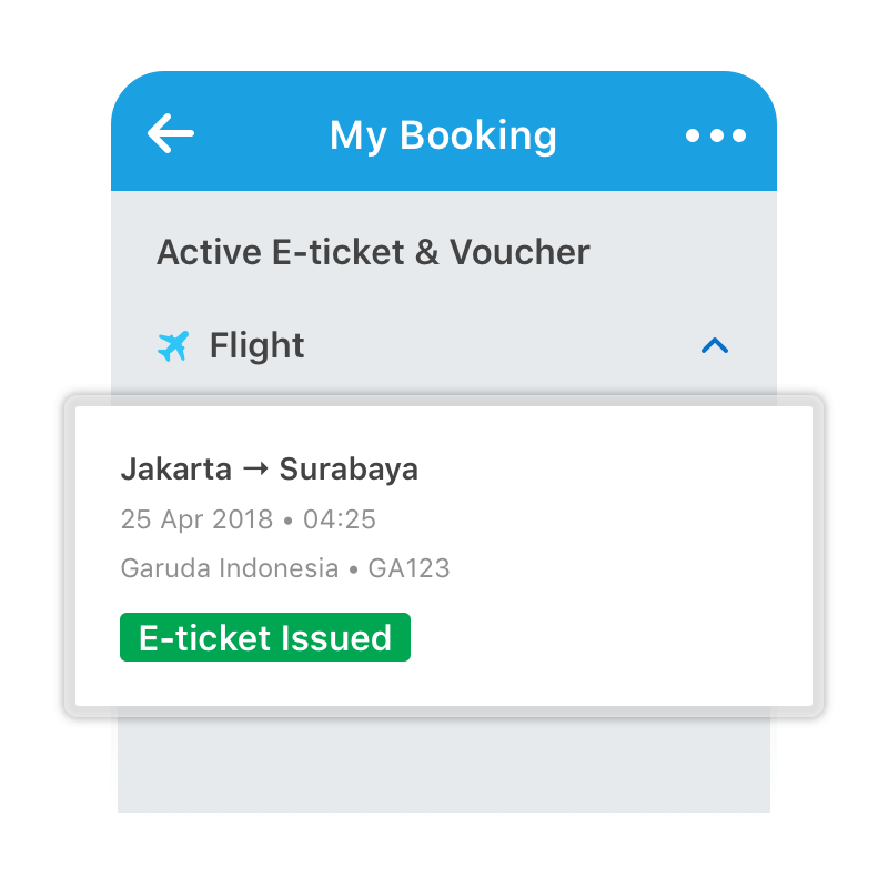 Go to My Booking