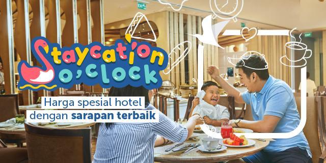 Promo Staycation O'Clock