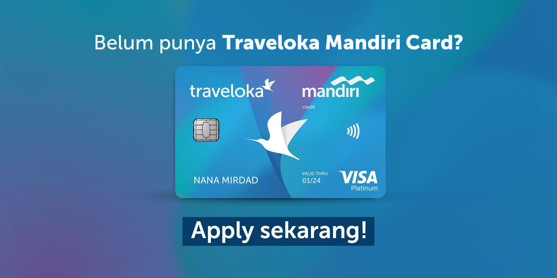 Promo Traveloka Mandiri Card