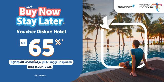 Buy Now Stay Later Promo Booking Hotel Traveloka