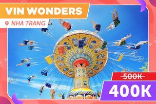 VinWonders Nha Trang , Giảm 20%/Tặng voucher ăn