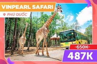 Vinpearl Safari Phú Quốc, Giảm 20%