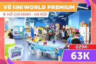 Vé tiNiWorld Premium, Tặng đồ chơi