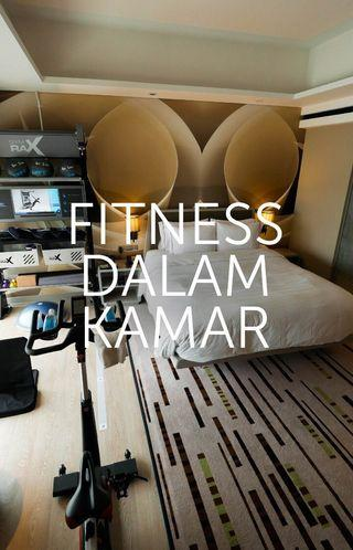 Tipe Kamar Five Feet to Fitness di DoubleTree by Hilton