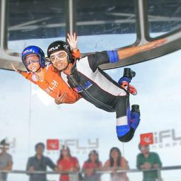 [Traveloka Exclusive] iFly Singapore Teaser Package for Youth + Free Socks (Off Peak), S$ 56.00