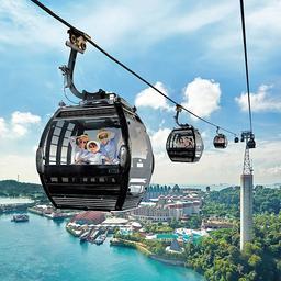 Singapore Cable Car Skypass Round-Trip  + Sentosa Island Bus Tour (Valid Until 30 June 2021), S$ 30.00