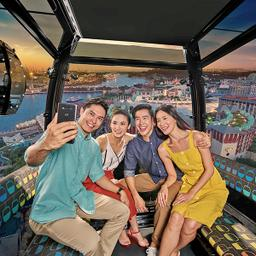 Combo- Singapore Cable Car + Skyline Luge + Go Green Segway Fun Ride 500M - SingapoRediscovers Vouchers, S$ 55.00