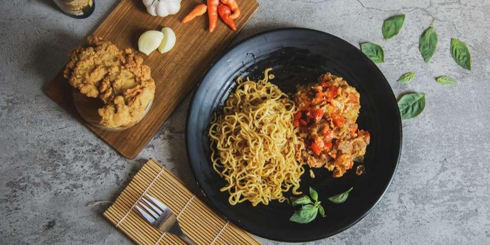 ramen spicy chicken